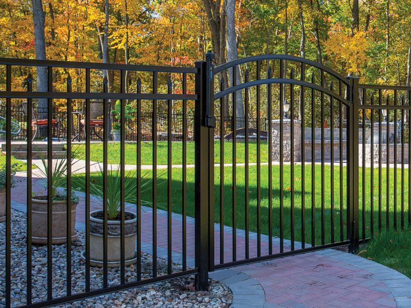 Popular Commercial Aluminum Fence Style Selected by our Georgia and South Carolina Residents